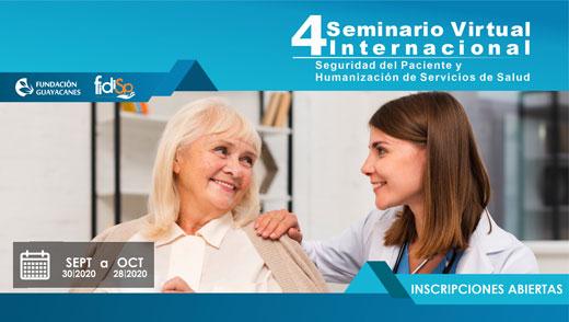 Course Image 4 SEMINARIO VIRTUAL INTERNACIONAL EN SEGURIDAD DEL PACIENTE  Y HUMANIZACIÓN DE LOS SERVICIOS DE SALUD