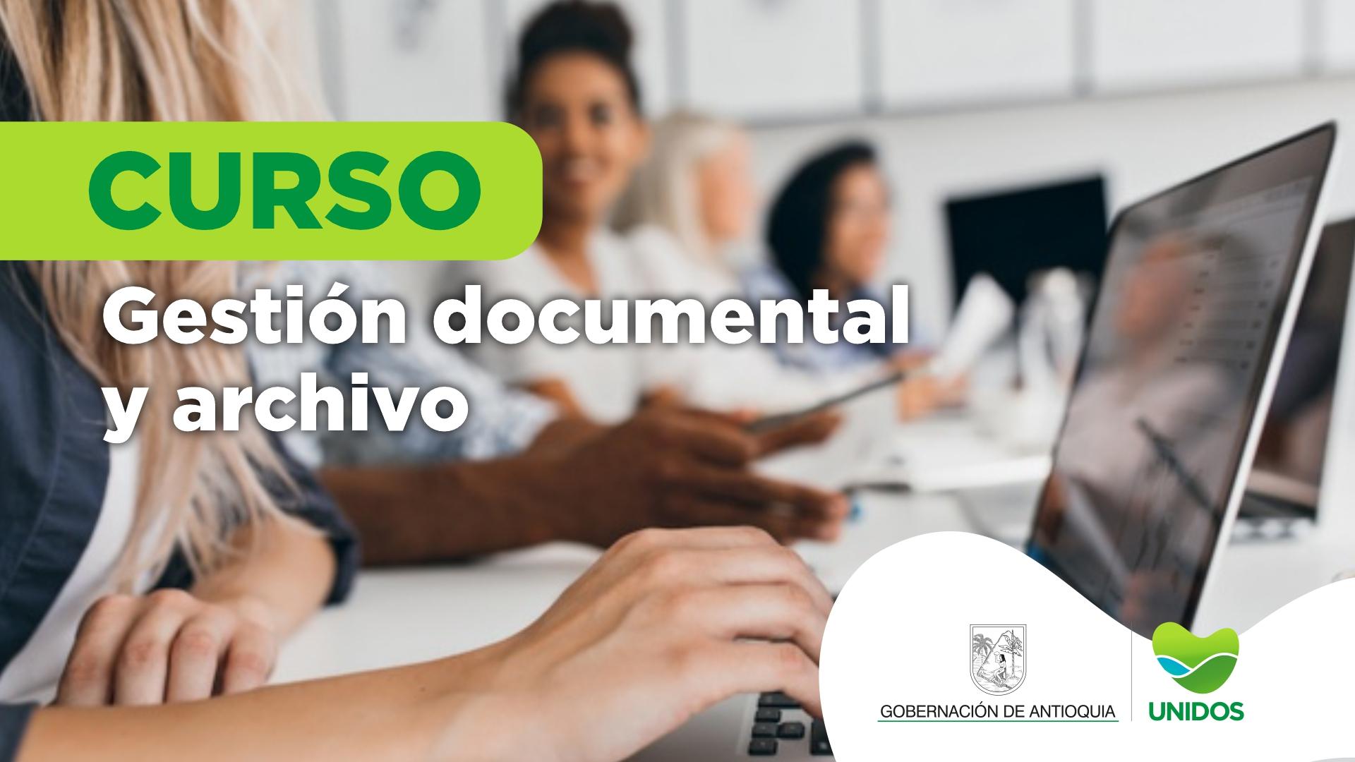 Course Image CURSO DE GESTIÓN DOCUMENTAL Y ARCHIVO