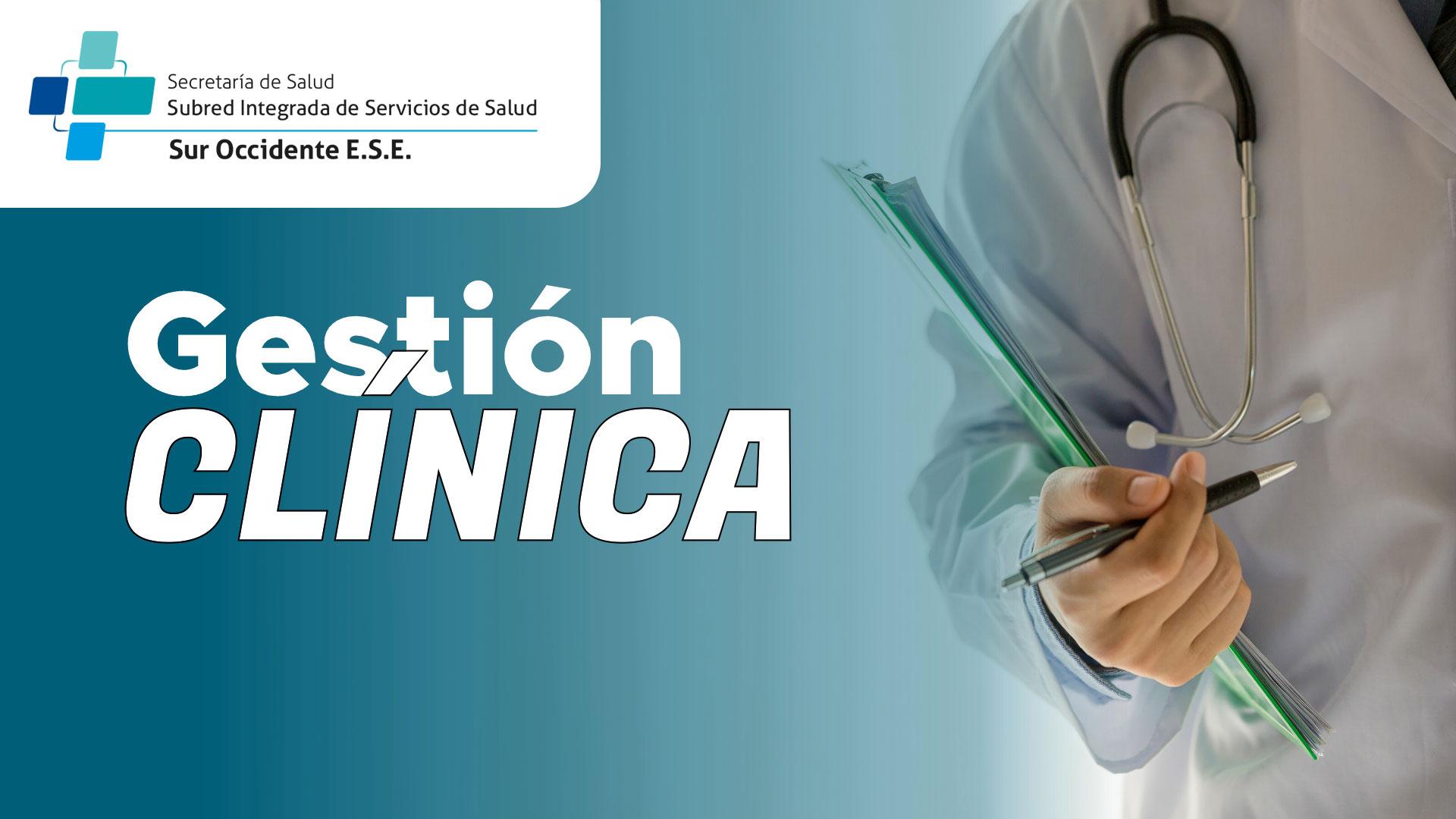 Course Image CURSO DE GESTIÓN CLÍNICA